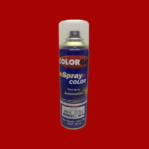 Tinta-Spray-Automotiva-Colorgin-Vermelho-Royal-300mL