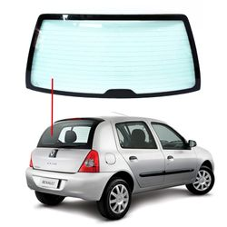 Vidro-Vigia-Renault-Clio-Hatch-00-13-Termico-Verde