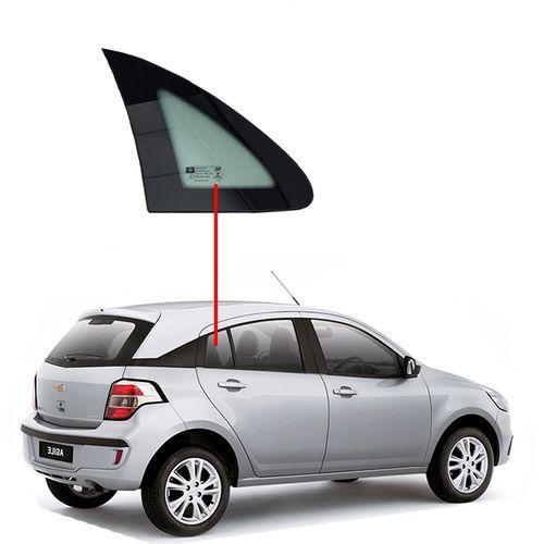 Vidro-Porta-Traseira-Fixo-Agile-Lado-Direito