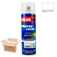 Tinta-Spray-Automotiva-Colorgin-Branco-Acabamento-300mL-12Un