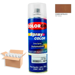Tinta-Spray-Automotiva-Colorgin-Cobre-Metalizado-300mL-12Un