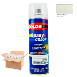 Tinta-Spray-Automotiva-Colorgin-Prata-Lunar-300mL-12Un