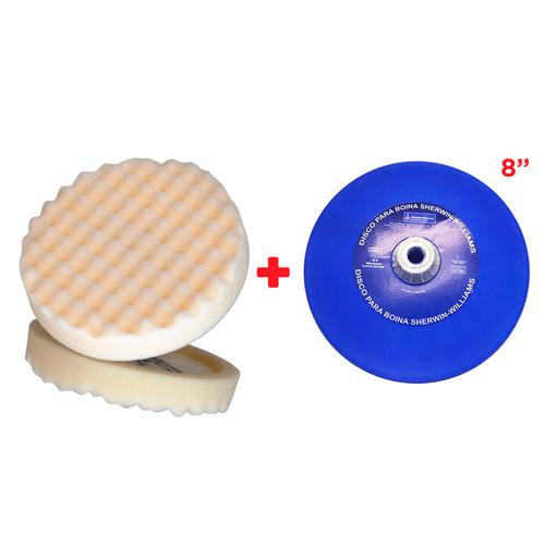 Kit-Disco-p--Boina-Lazzuril---Boina-Espuma-Branca-8-