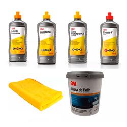 Kit-Polimento-Cristalizacao-Espelhamento-Profissional-3M-5-Fases---Microfibra