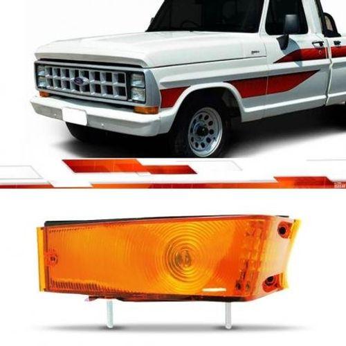 Lanterna-Dianteira-F-1000-ate-1992-Lado-Esquerdo---Ambar